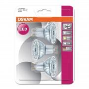 GU10 4.3 W 827 LED reflector bulb Star, set of 3