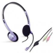 Fejhallgató, mikrofonnal, GENIUS HS-02B (GEFHM02B)