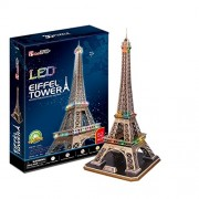 CubicFun 3D Puzzle LED-Series Eiffel Tower