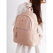 Stylowy plecak damski szkolny plecaczek miejski Davide Jones - RÓŻOWY