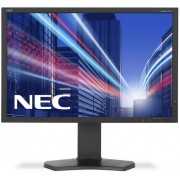 "Monitor IPS LED Nec 24.1"" P242W, Full HD (1920 x 1200), VGA, DVI, HDMI, DisplayPort, 8 ms (Negru)"