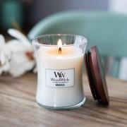 Lumanare parfumata Woodwick magnolia Borcan mediu