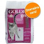 - 14кг Golden Grey хигиенична постелка за котки