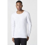 Bread & Boxers Tröja Long Sleeve Relaxed Vit