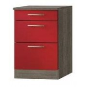 Keuken Kabinet Imola signaal rood satijn (BxHxD) 60,0x84,8x60,0 cm HRG-5125