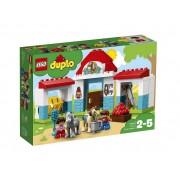 Set de constructie LEGO DUPLO Grajdul poneilor