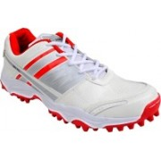 Proase Cricket Shoes(White, Red)
