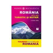 Romania. Atlas turistic si rutier.