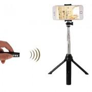 geschenkidee.ch Selfie Bluetooth Stange mit Stativ und Fernauslöser