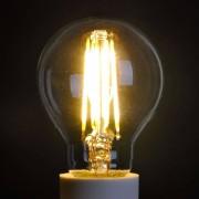 Lampenwelt.com Lampe LED goutte E14 4W 827, transparent - LAMPENWELT.com