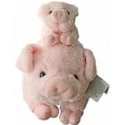 "Pigs Plush Stuffed Animals Set - 18"" Pig with Baby Piglet - Kids Toys - Gift - Pig Animal Stuff"