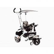 Tricicleta Baby Mix, 80 x 50 cm, prindere in 5 puncte, maxim 30 kg, 18 luni+, Alb
