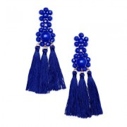 Tassel Earrings Jewelry - Blue