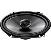 """Pioneer - G-Series 6""""x8"""" 2-way car speakers. Eash speaker has a mica-reinforced IMPP woofer with a rubber treated cloth surround. - Black"""