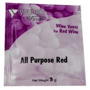Young's drojdie de vin All Purpose Red 5g
