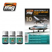 Ammo by Mig - METALLIC AIRPLANES & JETS