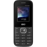 Trio T4 XL Selfie (Dual Sim 1.77 Inch Display 1500 Mah Battery Selfie Camera with WFM Black-Green)