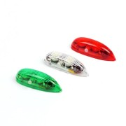 3 PCS Wireless LED Night Light Built-in Battery with Controller For RC Airplane