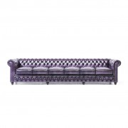 The Chesterfield Brand Original Chesterfield Wash Off Purple 6-seater