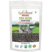 Healthsootra Organic Chia Seeds 200 gm - USDA / NPOP certified organic food