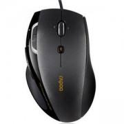 Жична оптична мишка, Черен цвят, RAPOO N6200
