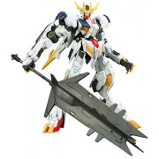 1/100 Full Mechanics Mobile Suit Gundam Iron Blood Orphans Gundam Barbatos Lupus Rex 1/100 Scale Color-coded Model Kit by Bandai Hobby