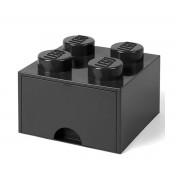 Lego Brick Lego de Almacenamiento Cajón 4 Negro