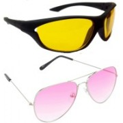 Redleaf Sports, Aviator Sunglasses(Yellow)