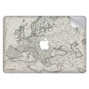 Wereldkaart design sticker voor de MacBook Pro Retina 15.4 inch Touch Bar