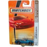 Matchbox 2008 Mbx Heritage Classics 1:64 Scale Die Cast Metal Car # 3 Blue Classic 2 Door Mid Engined Gt Coupe Lotus Europa