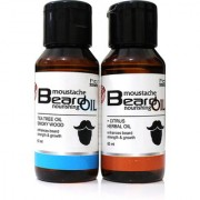 Combo Pack of Tea Tree and Citrus Herbal Beard Oil