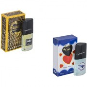 Skyedventures Set of 2 Kabra Yellow-Younge Heart Blue Perfume