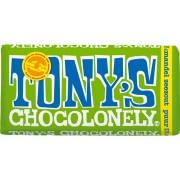 Tony's Chocolonely Puur Amandel Zeezout - 5 x 180 gram