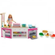 Игрален комплект Кухнята на Barbie, със светлини и звуци, 1710087