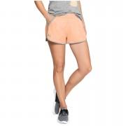 Under Armour Women's Tech Shorts - Orange - S - Orange