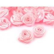 Trandafir din material textil Ø13-15 mm