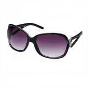 Fastrack Grey UV Protection Over-sized Girl Women Sunglasses