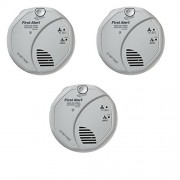 First Alert SCO5CN Combination Smoke and Carbon Monoxide Alarm Battery Operated (3 Pack)
