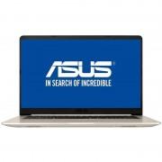 Laptop Asus VivoBook S15 S510UA-BQ423 15.6 inch FHD Intel Core i5-8250U 8GB DDR4 256GB SSD Endless OS Gold Metal
