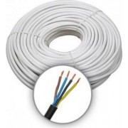 MTK 4x0.75 (H05VV-F) Sodrott erezetű Réz Villanyszerelési kábel