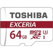 Card de memorie Toshiba Exceria M302 microSDXC 64GB UHS I U3 90MBs + Adaptor SD