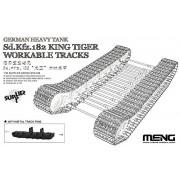MNGSPS038 1:35 Meng Sd.Kfz.182 King Tiger Workable Tracks [MODEL KIT ACCESSORY]