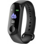 Bratara Fitness M3 Band HR Display Notificari Pedometru Bluetooth Negru