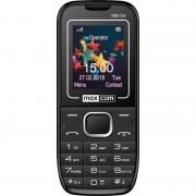Maxcom MM134 mobiltelefon, dual sim-es kártyafüggetlen, bluetooth-os, fm rádiós fekete