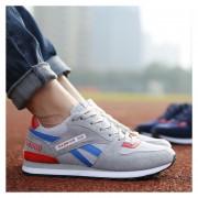 NUEVO Zapatos Calzado Deportivo De Los Estudiantes Respirable Las Zapatillas Jogging Para Hombre -Gris