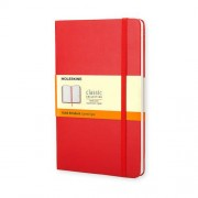 Moleskine Large Ruled Red Notizbuch DIN A5