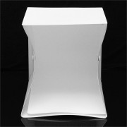 25x23x25cm Photo Studio LED Lighting Box Photography Backdrop Mini Light Room Portable Shooting Tent