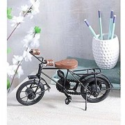 Shilpi Wooden Iron Cycle Antique Home Decor Product / Best Gift Item For Children Birthday / Showpiece For Living Room