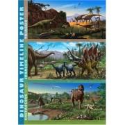 Dinosaurs Dinosaur Timeline Poster - A3