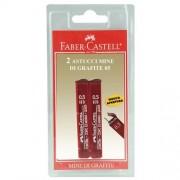 Faber-Castell Confezione 2 Astucci Con 12 Mine Poly Grafite 0,5 Mm Tipo Hb